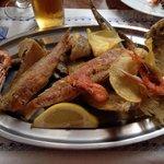 Frittura di pesce speciale