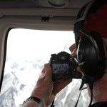 Taking photos of Mt. Moran