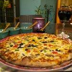Rica y deliciosa Pizza