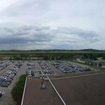Small pano from the room looking at RWY 10L/28R