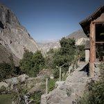 Viajad Viajad malditos_ Posada Roy_ Cañón del Colca. Peru.