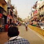 View from my rickshaw