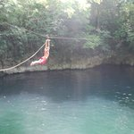Awesome zip line