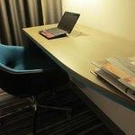Desk/work area in Room 233