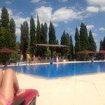 Beautifully clean 30 metre pool, deep at both ends
