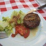 repas au barbecue burger