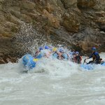 Rafting Fun on the Kicking Horse with Hydra
