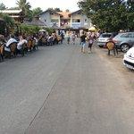 Restaurant, bar - car park - leading to tourist shops