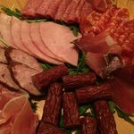Cold meat platter - strongly recommended!