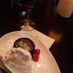 Chocalte Ganache Cake w/ Hickory Syrup Whipped Cream