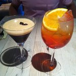 Espresso Martini & Aperol Spritz