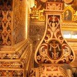 Декор базилики.