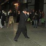 Tango perfeito na rua