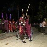 Les Masaïs invités à notre demande :) !