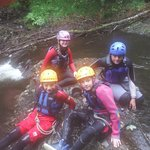 Saturday 30th august 2014  Canyoning at Maentwrog, excellent afternoon!