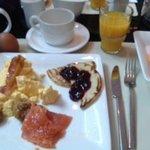 frühstück - sehr vielseitig und gut
