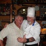 foto ricordo con lo chef