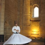 Whirling Dervish in full swing.