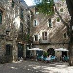 l'hôtel vu de la place San Neri