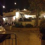 Vista del ristorante dalla strada