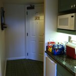 entrance with kitchenette