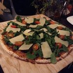 pizza de Arugula
