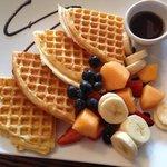 Waffle N Fruit