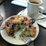 Blueberry pound cake: The Bomb!