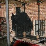 Dracula moving through the Chapel