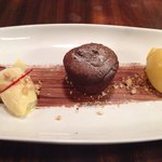 A lovely chocolate fondant