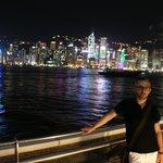 La vue sur Hong Kong est vraiment magique la nuit