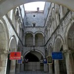 Sponza Palace - had ground floor access only