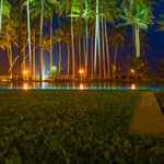 pool area - night view