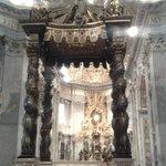 baldacchino dell'altare maggiore