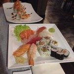 Sushi sashimi e Tiger roll