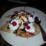 Dessert nachos are great :-D