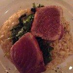 Tuna with risotto