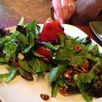 Vertical Pear Salad = Divine!