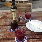 Restaurante Salt & Pepper no Riffort: peça a Sangria, deliciosa!