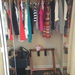 master bedroom closet…my neat-nick girls