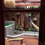 Garden suite's bathroom