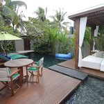 1 Brm Pool Villa - outdoor area