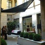 Foyer of Hotel.