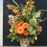 Wonderful flower arrangements grace the Great Hall and Contemporary Wing