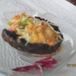 Lobster Stuffed Mushroom Caps - Yumm!