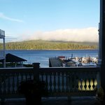 View of the marina with the fog rolling in, BEST WESTERN PREMIER Prestige Oceanfront Resort   