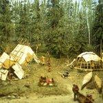 Manitoba Museum: ricostruzione di un villaggio dei nativi