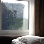 Hilton York, double room with view of Clifford's Tower