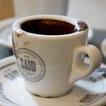 Rich and dark hot chocolate