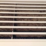 "After being moved into a ""cleaner"" room the A/C vent was full of mould and dust. Asthma flared u"